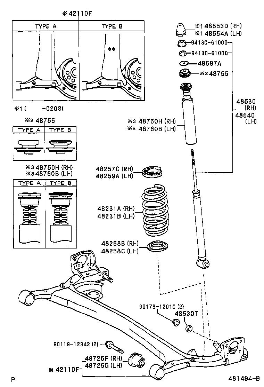 toyota yaris echoncp12r-bemrkq - powertrain-chassis