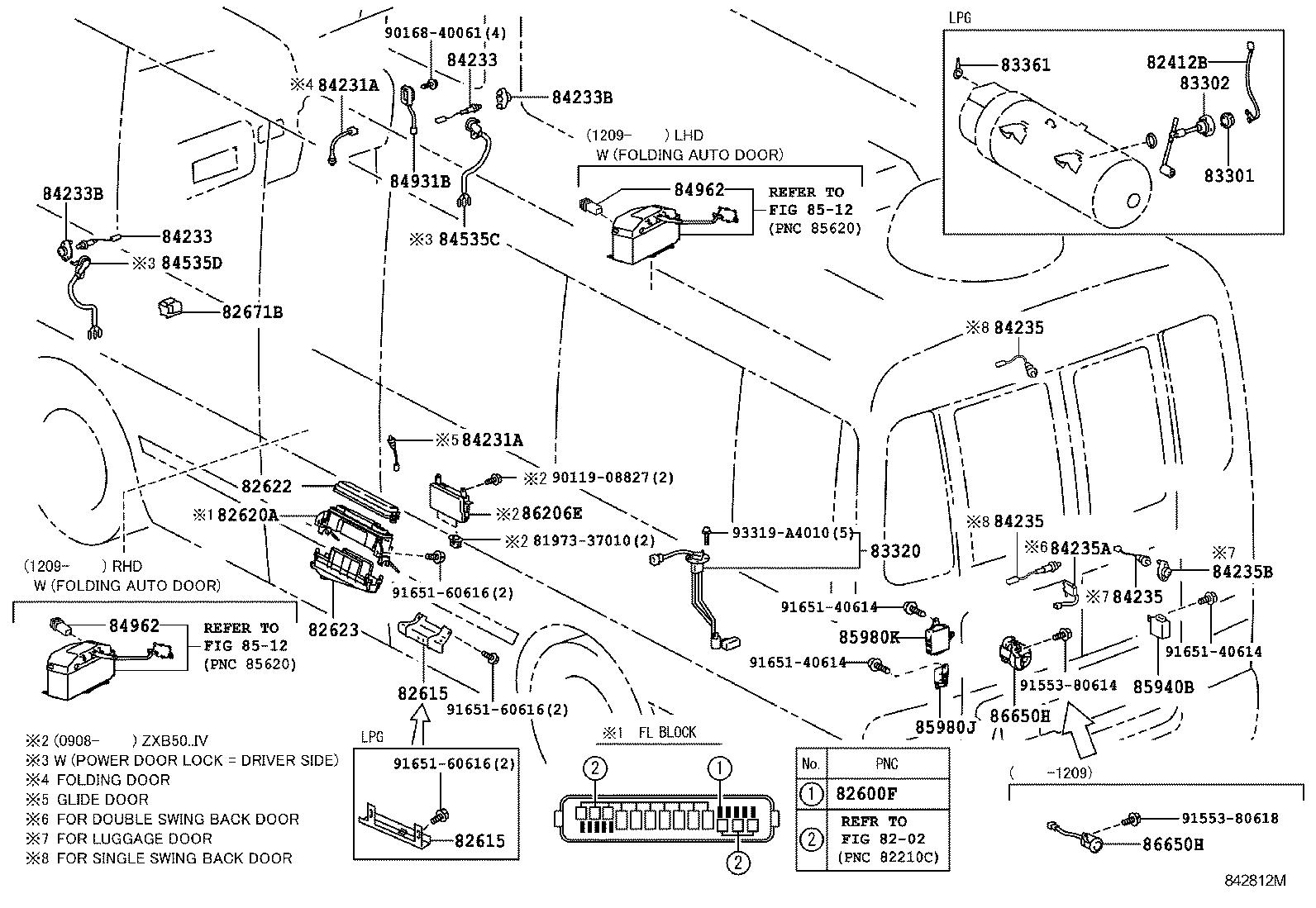 toyota coasterhzb50r-zgmss - electrical