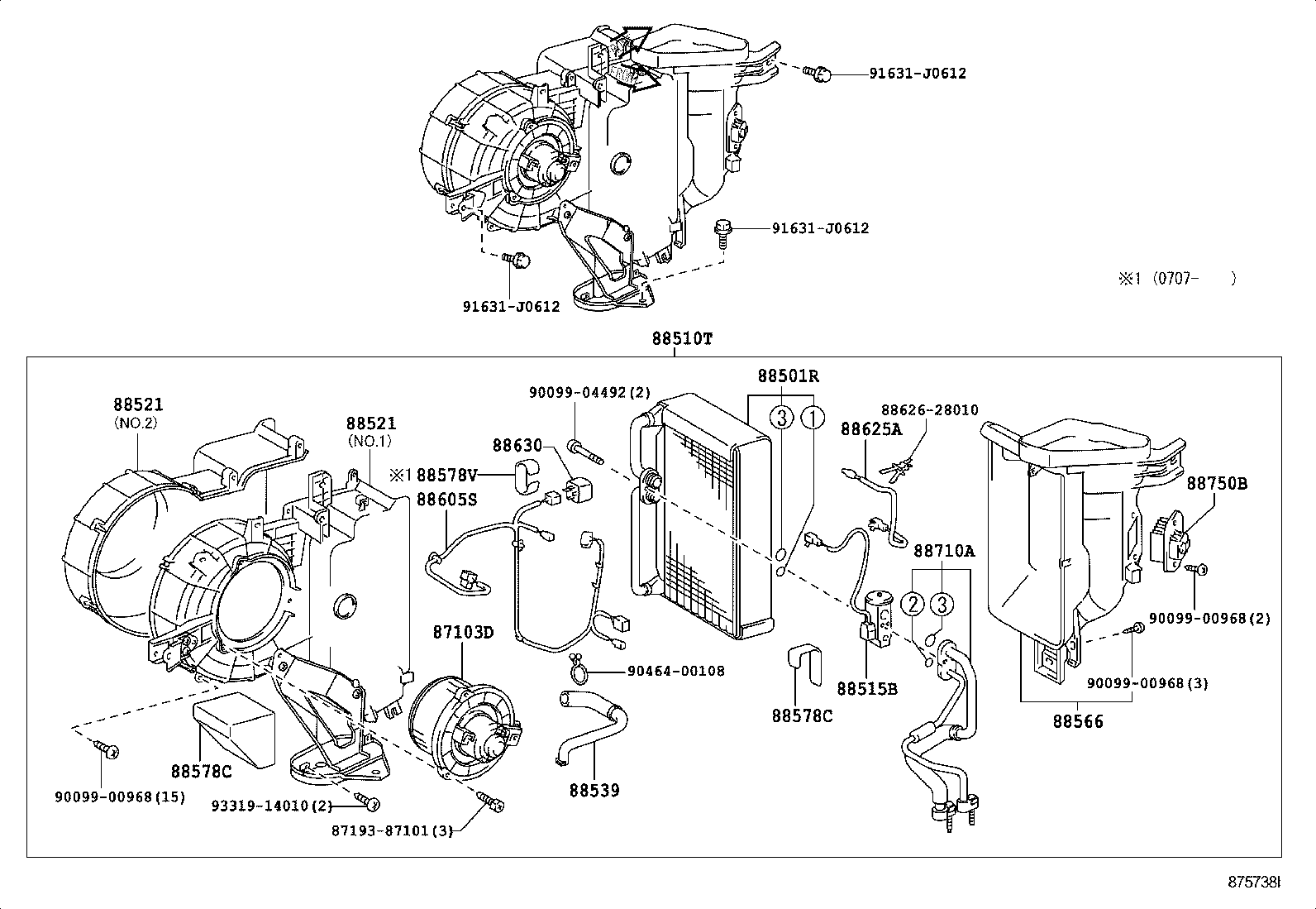 toyota fj cruiser air conditioning diagram