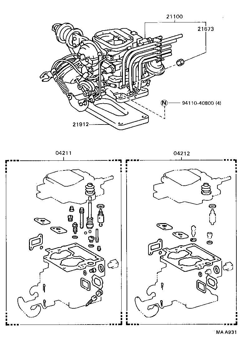 power steering pump diagram on 91 toyota camry