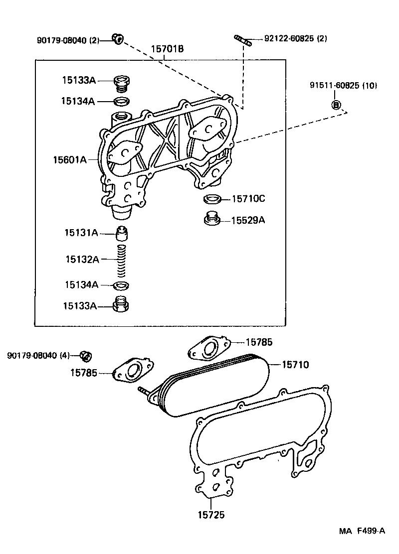 TOYOTA LAND CRUISER 80FZJ80L-GNPEK - TOOL-ENGINE-FUEL