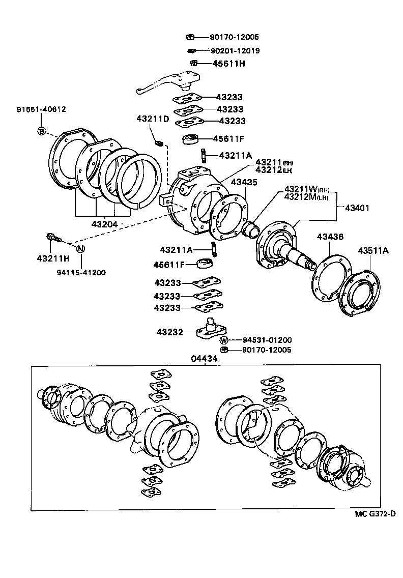 toyota hilux 4runnerrn105r-trmrsq3