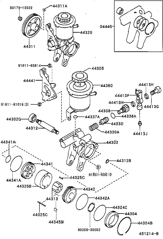 toyota corollaae101-acpgk - powertrain-chassis