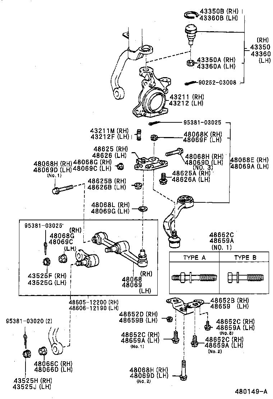 toyota corollaae101-acmzf - powertrain-chassis
