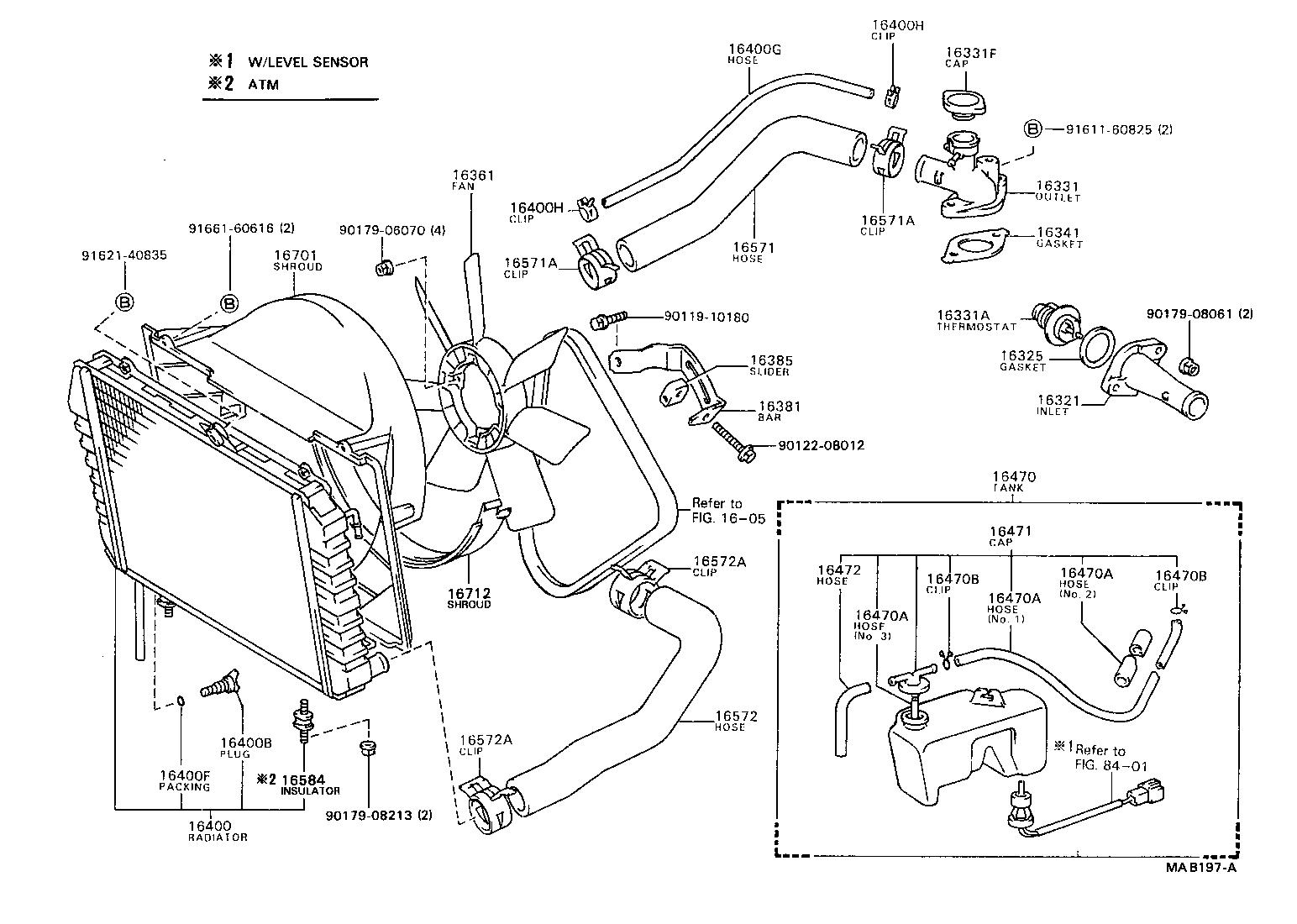 toyota model fyr21lg-mq - tool-engine-fuel