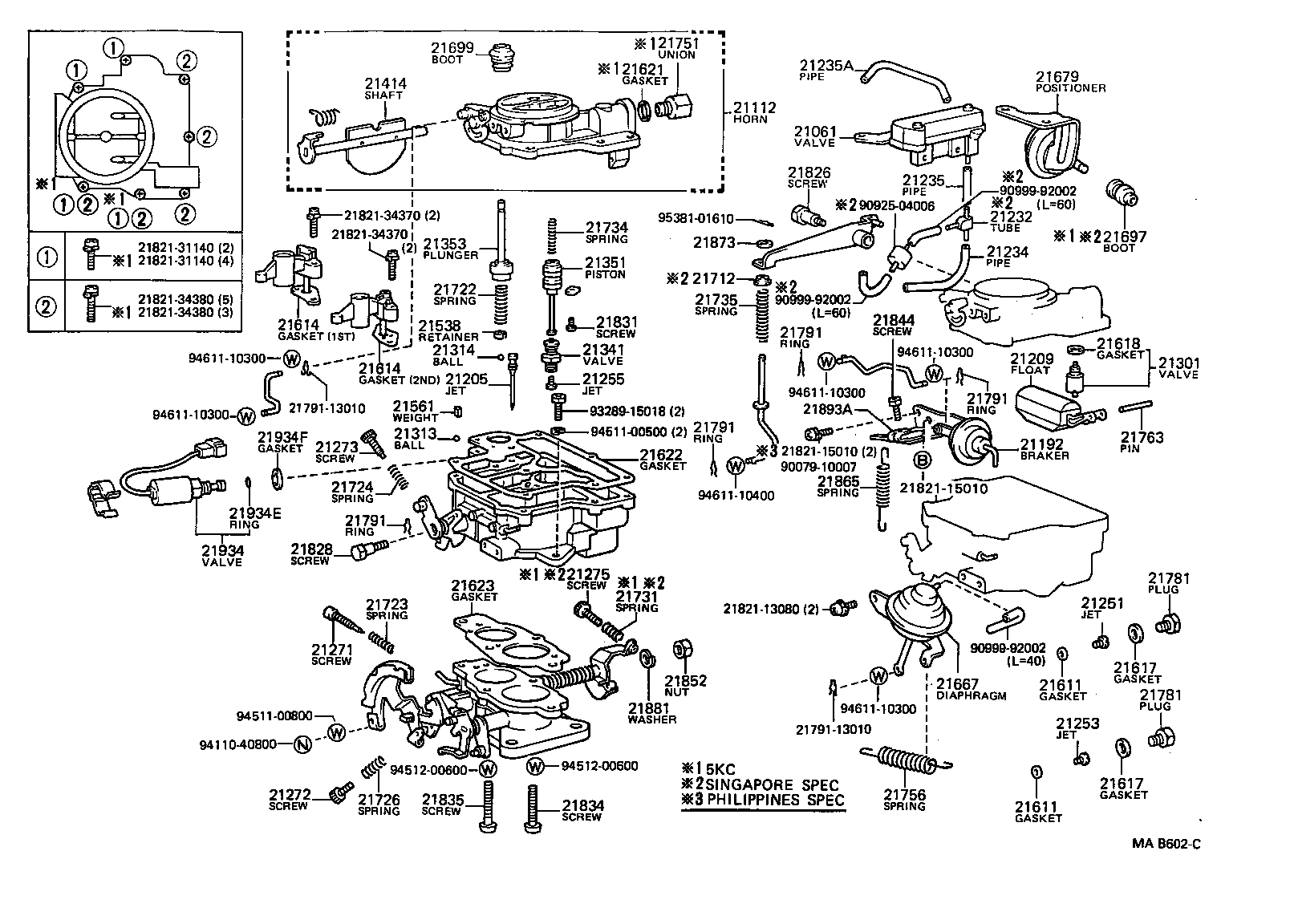 toyota liteacekm36lv-jr - tool-engine-fuel