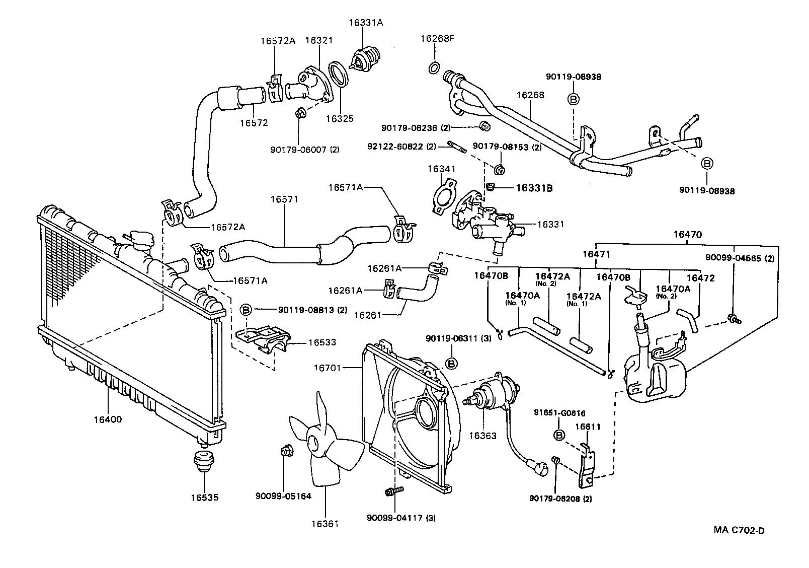 Toyota Celicast184r-blpvkq - Tool-engine-fuel