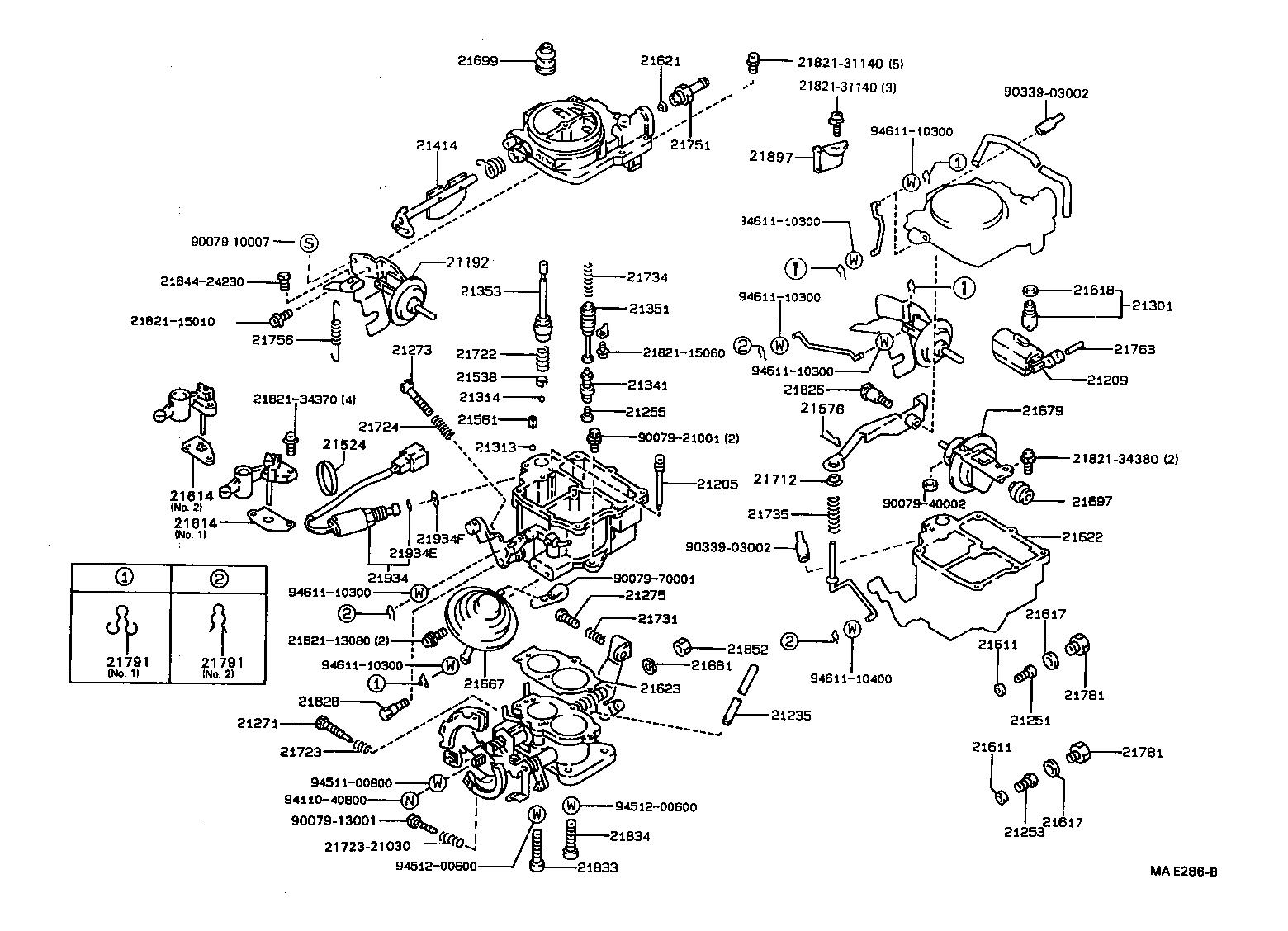 toyota tercelel40l aehds tool engine fuel carburetor japan rh japan parts eu 1994 Toyota Pickup Parts Diagram 1994 Toyota Tercel Manual