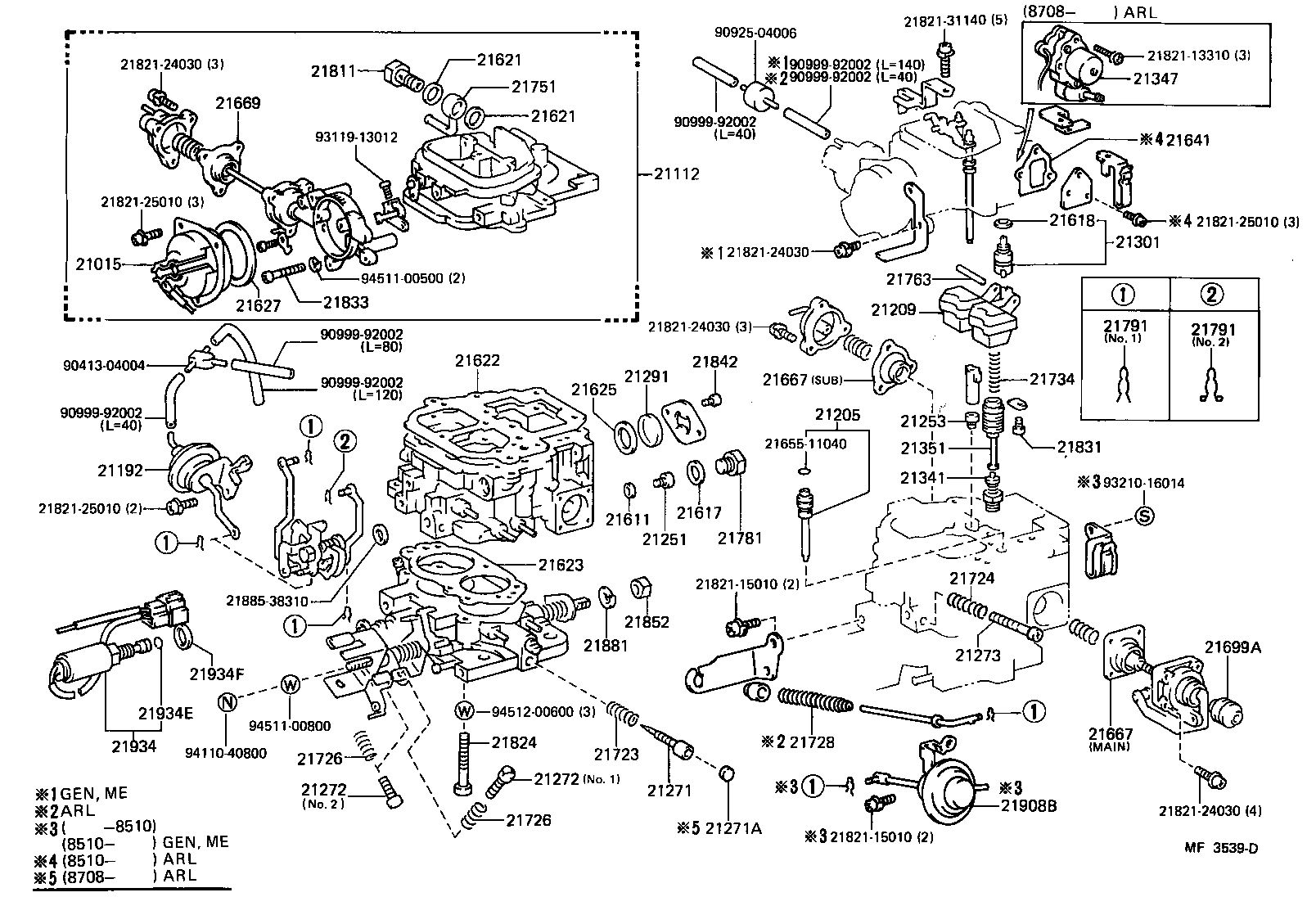 Toyota Land Cruiser 3f Engine Parts Diagram