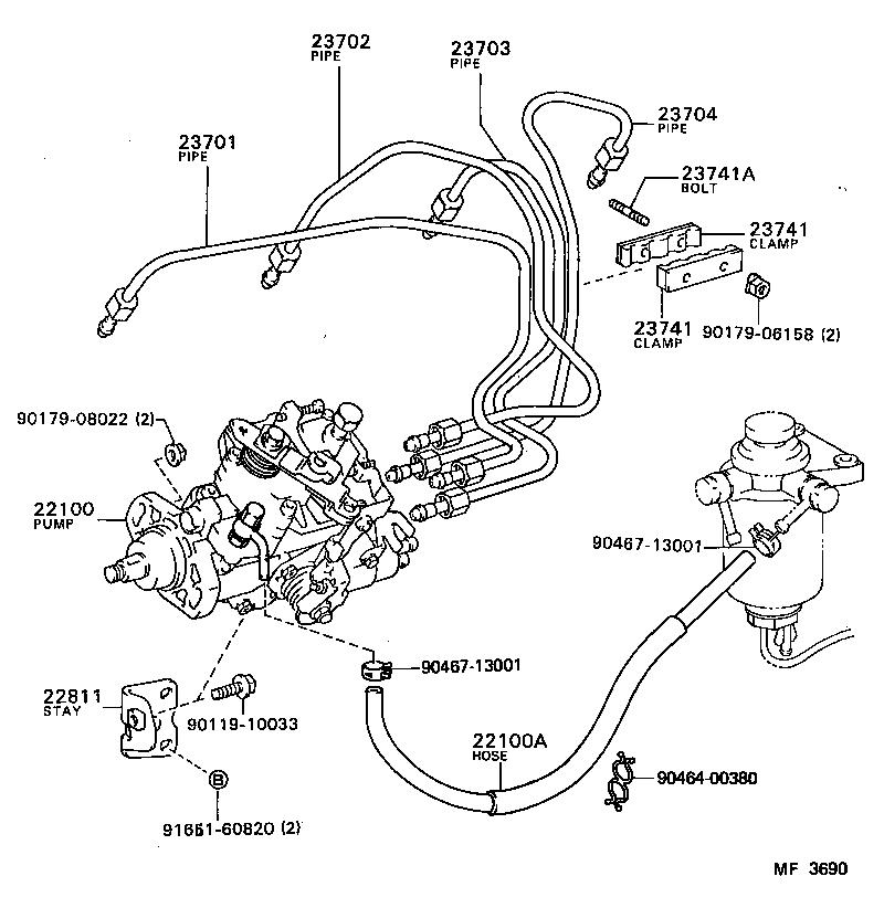 toyota liteacecm35lv-qrs - tool-engine-fuel