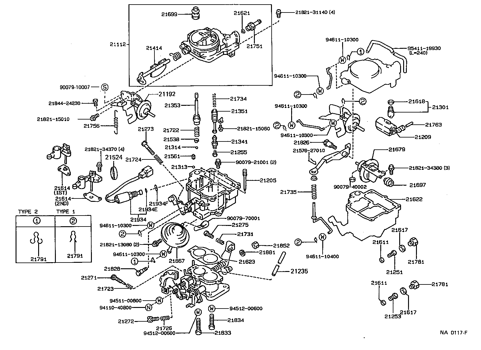 fj40 carburetor diagram