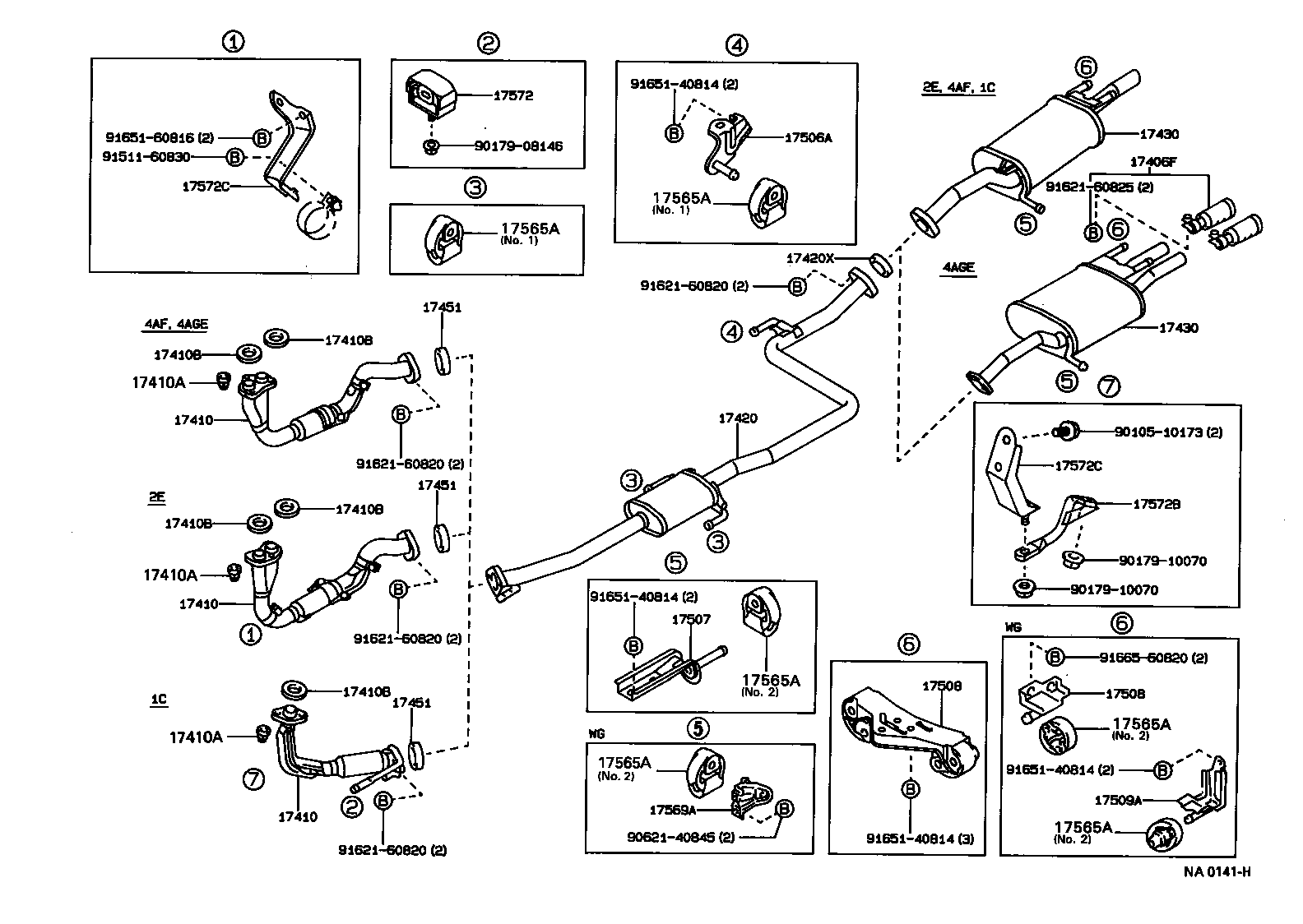 1996 toyota tercel engine diagram  1996  get free image