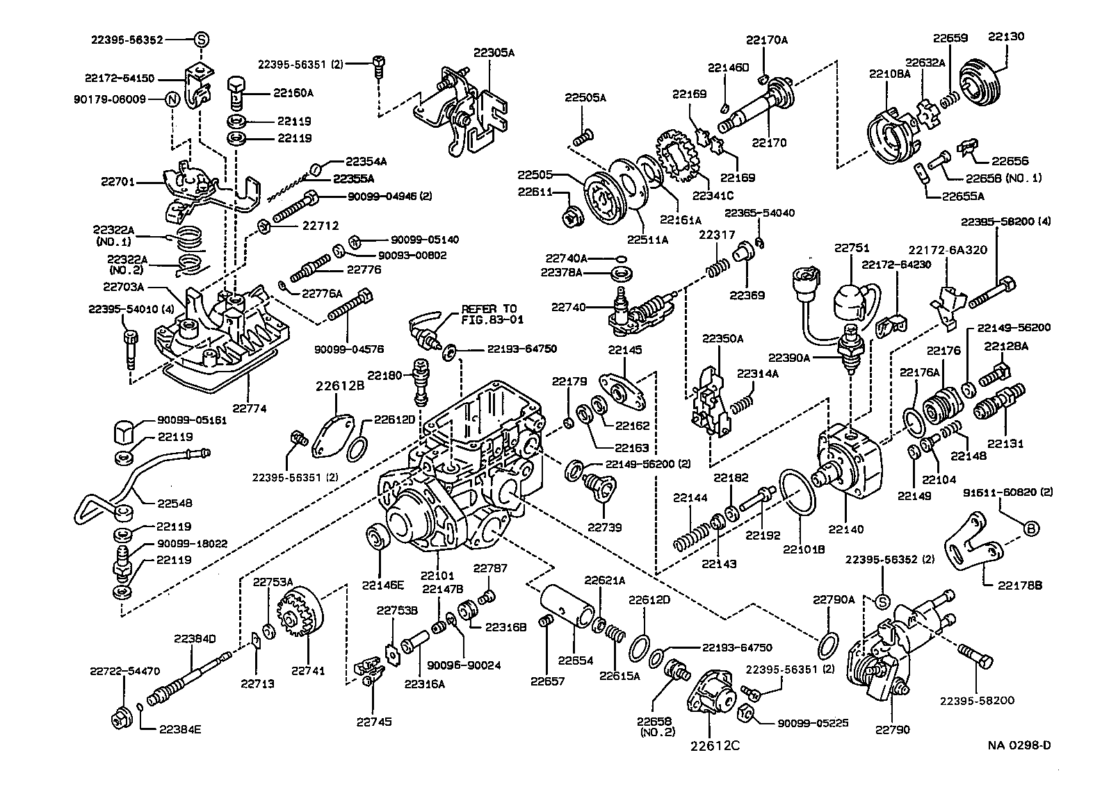 Service Manual Injector Pump Removal 1992 Toyota Corolla