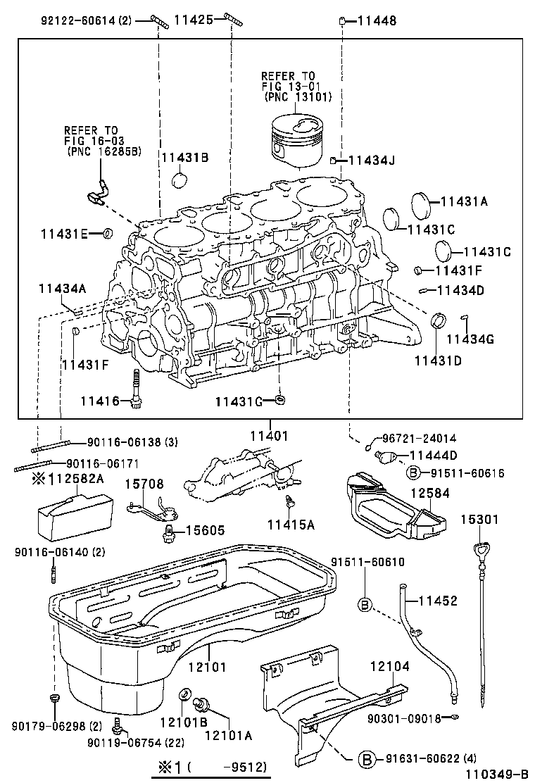 toyota 4runnerkzn185l-gkmsx - tool-engine-fuel