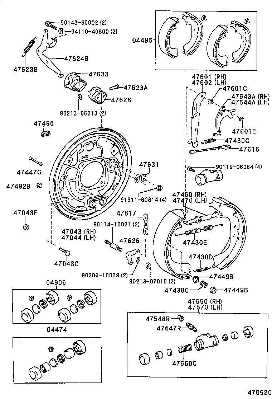 98 4runner Rear Drum Diagram Wiring Diagram Page Split Best Split Best Granballodicomo It
