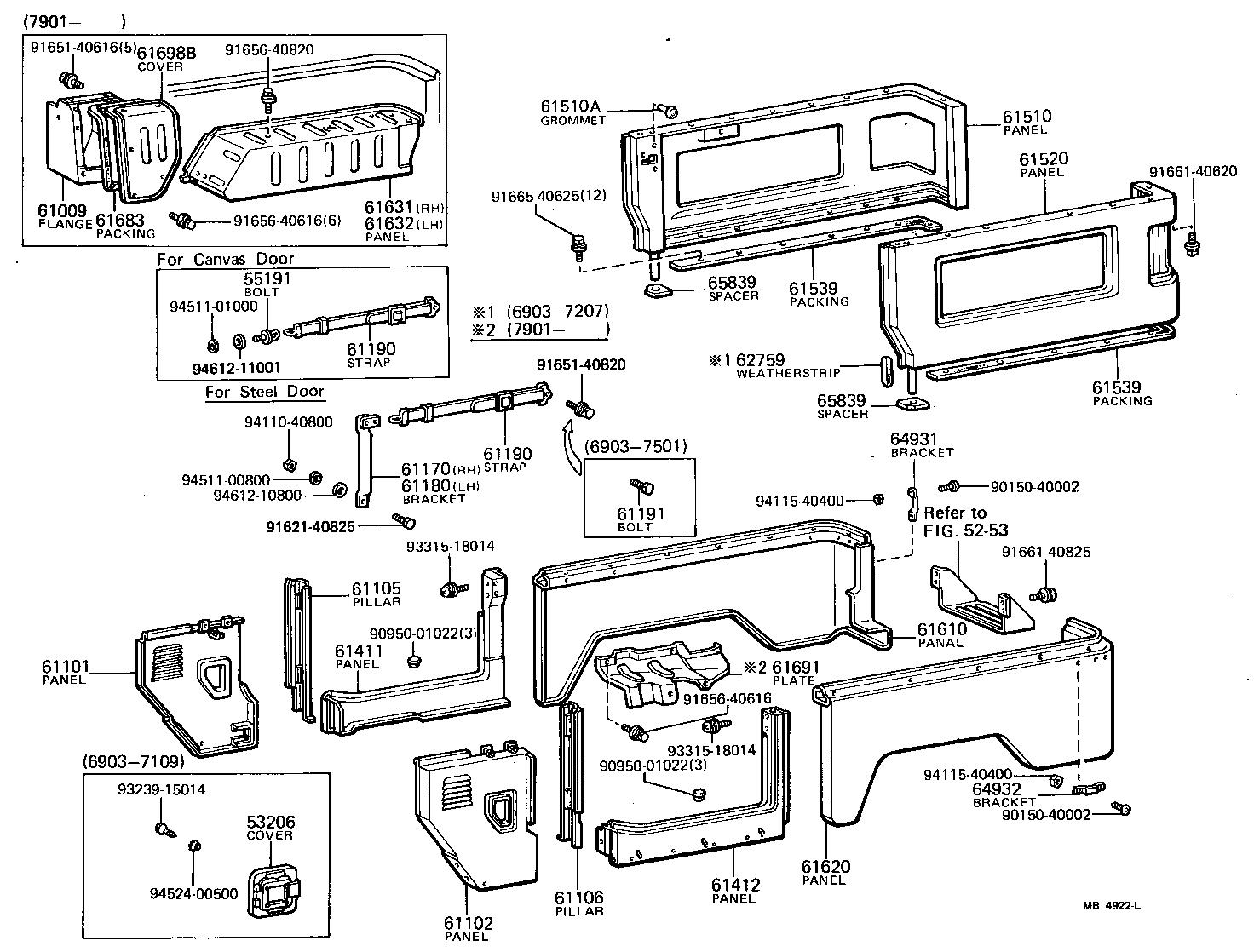 Toyota Fj55 Body Parts