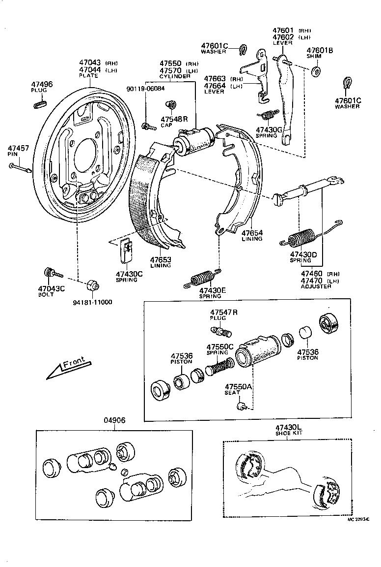 toyota corolla truenoke36rv-krf