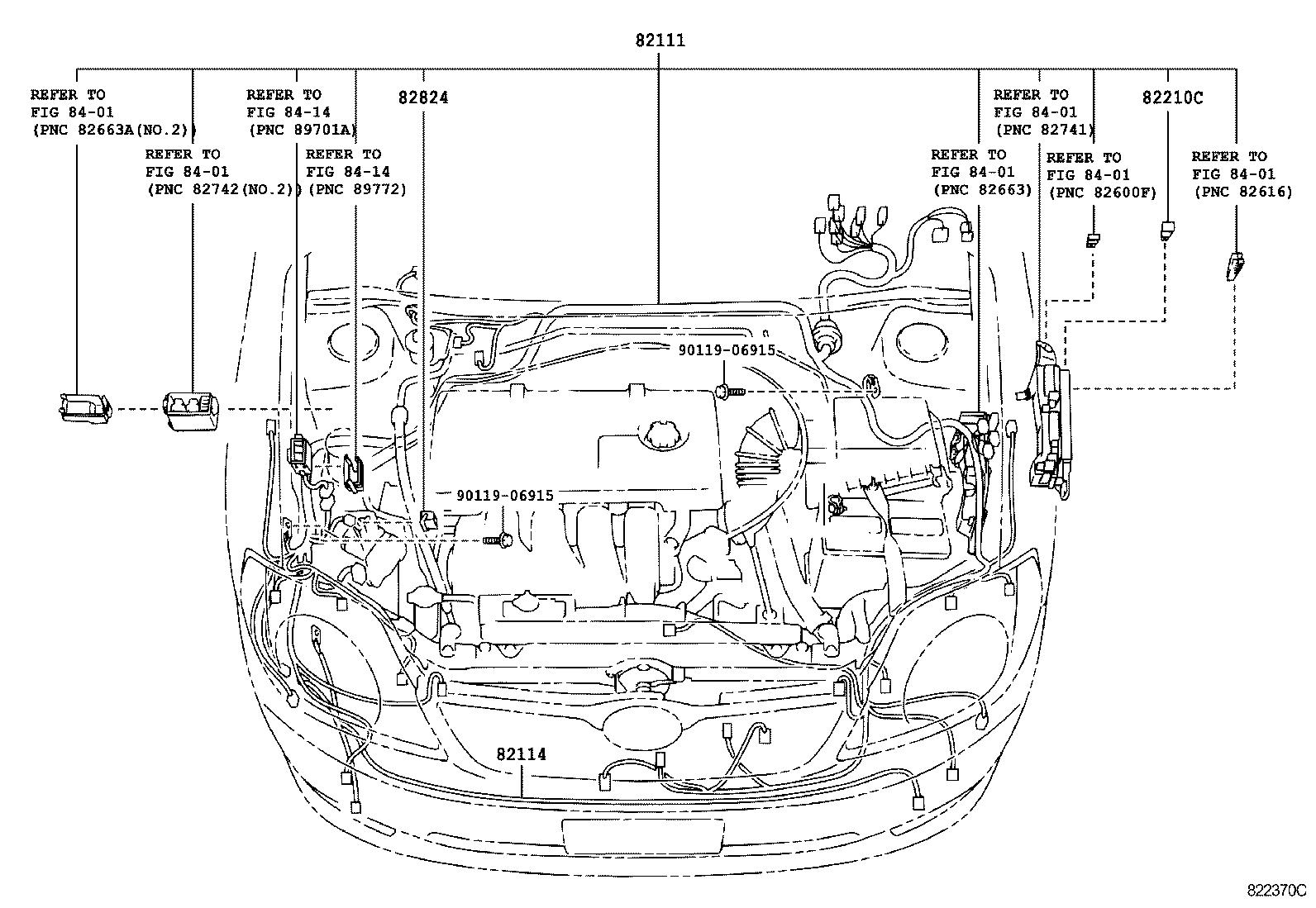 toyota corolla fieldernze124-aepnk - electrical
