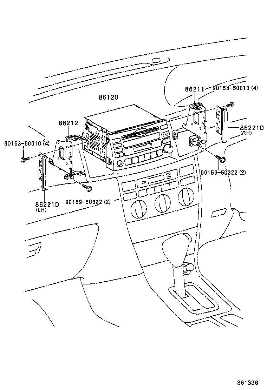 toyota corolla runx allexzze123-bhpqf - electrical