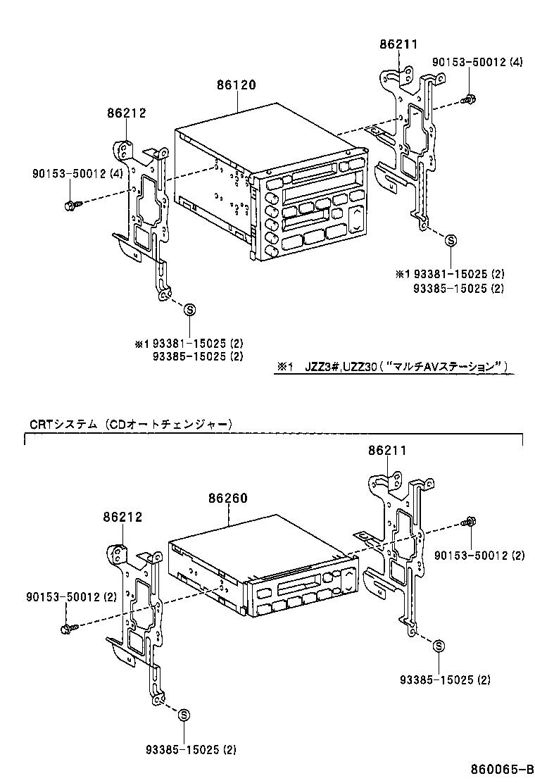 toyota soarerjzz30-acpvz - electrical