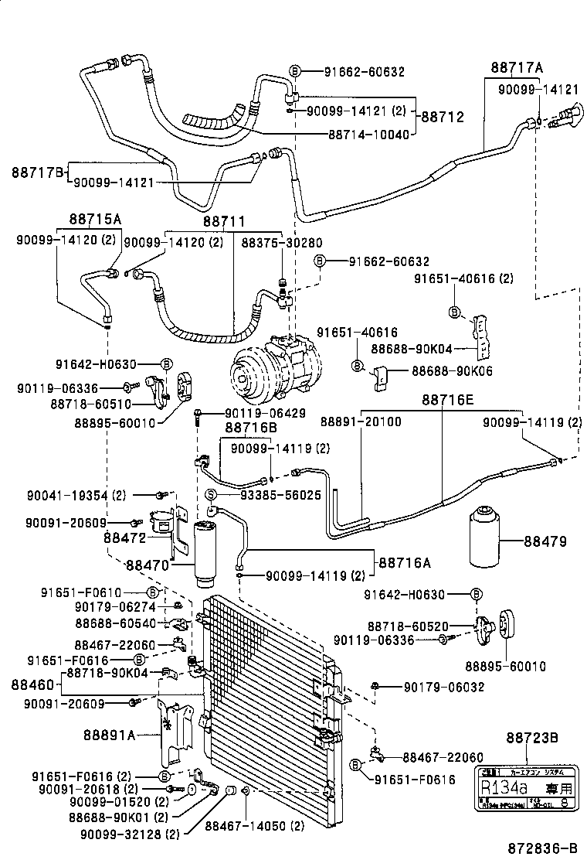 service manual  auto air conditioning repair 1996 toyota