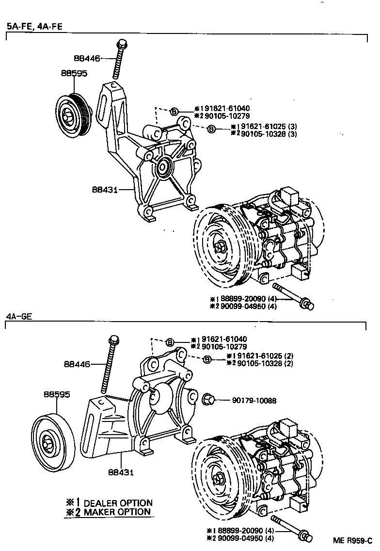 1998 toyota tacoma air conditioning diagram html
