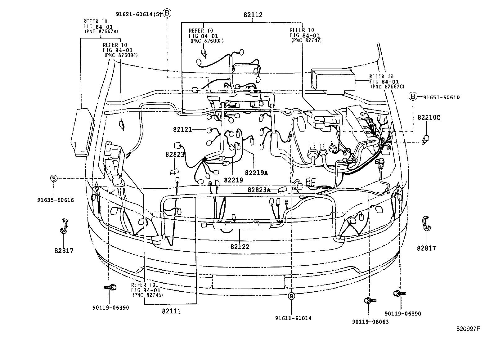 Toyota Granvia Grand Hiacevch10w Gfsqk Electrical Wiring Clamp Diagram Hiace
