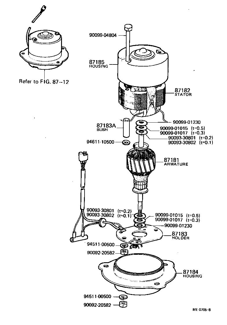 8713_heating Air Conditioning Blower Motor on 1974 Toyota Land Cruiser Wiring Diagram