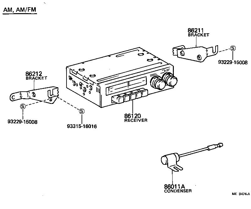 toyota land cruiser 40bj42-kc - electrical