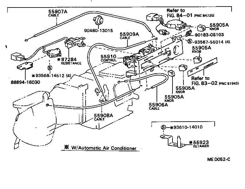 toyota corollaae80-fekds - electrical