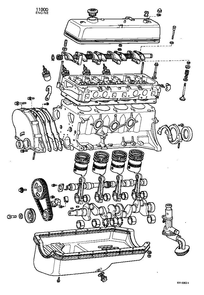 toyota publicakp37v-knj - tool-engine-fuel - partial engine assembly    japan parts eu  japan parts eu
