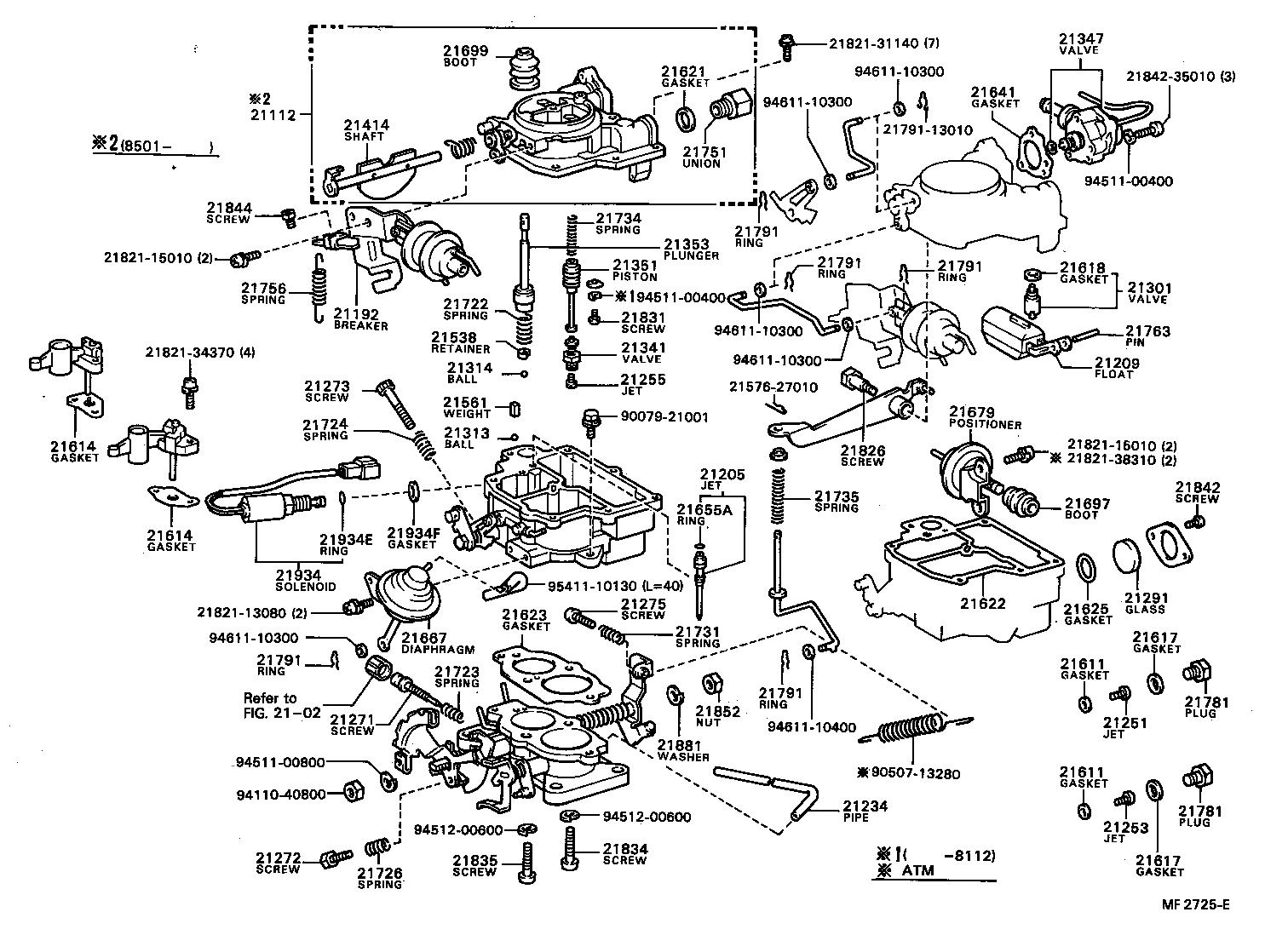 1989 Toyota Corolla Carburetor Diagram Trusted Wiring Diagrams 1988 Jeep Wrangler Corollake70 Eekns Tool Engine Fuel Japan