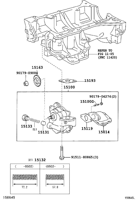 Toyota Scion Tcant10l Alpgka Tool Engine Fuel Oil Pump Tc Diagram