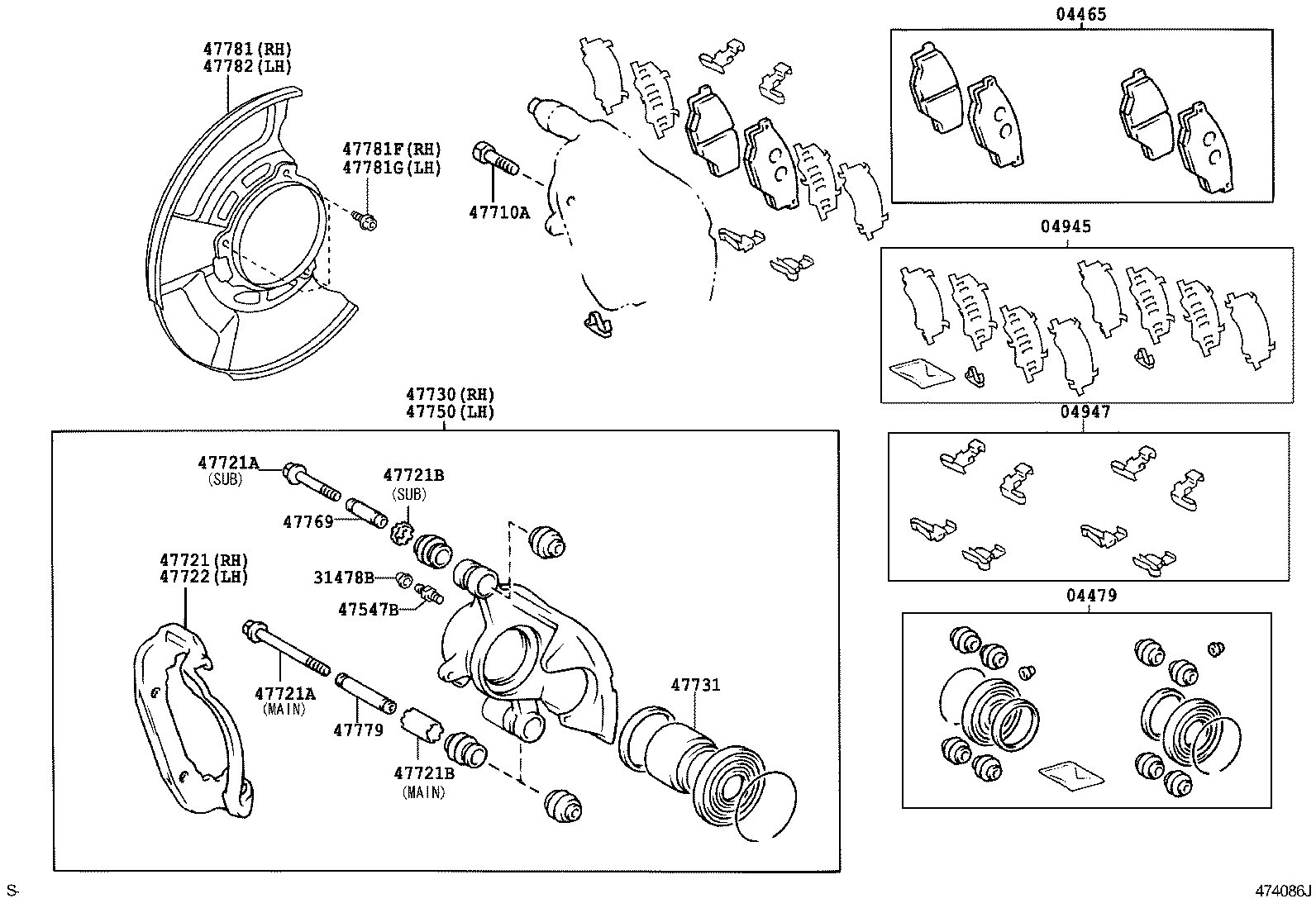 toyota hiluxkun10l-trmdyv - powertrain-chassis