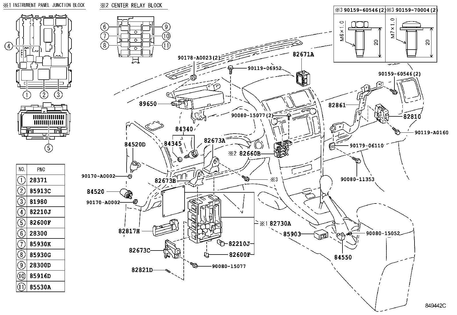 toyota corolla napzre142l-depnka - electrical