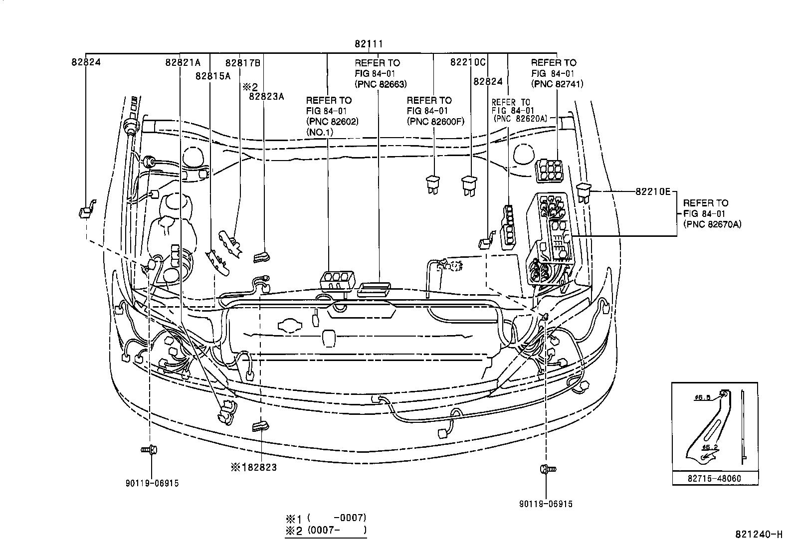 lexus rx300mcu15l-awpgka - electrical