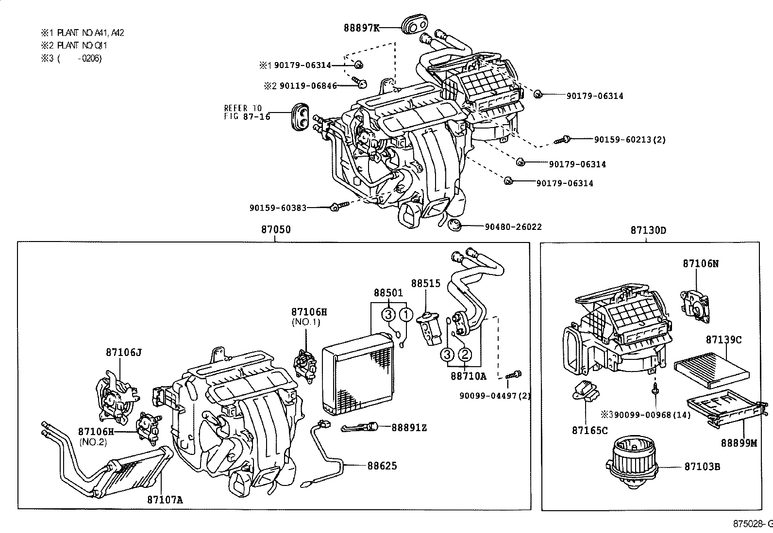 lexus es300 330mcv31l-beagka - electrical