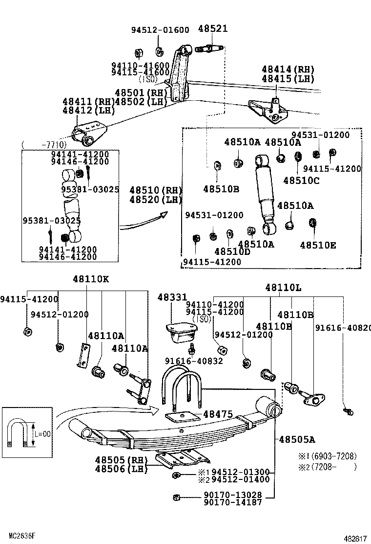toyota land cruiser 40 55fj40lv-kcja