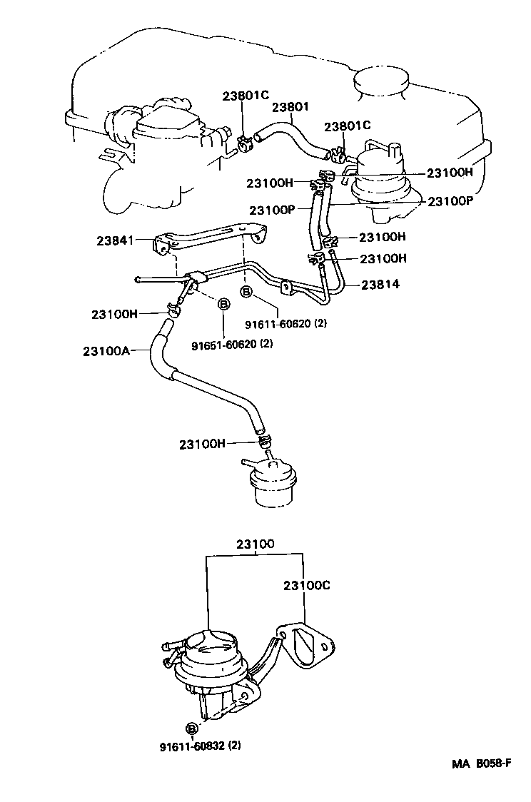 1989 Toyota Cressida Engine Diagram Wiring 1jz Timing Belt Cressidarx81l Aepesv Tool Fuel Pump Pipe