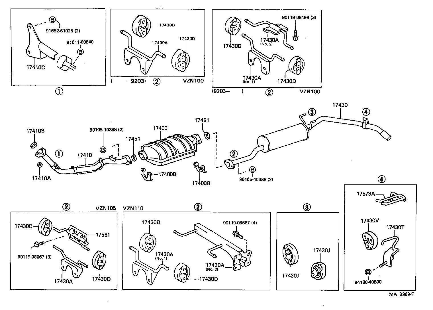 1992 Toyota Pickup Dual Exhaust 1990 Daihatsu Rocky Engine Diagram System