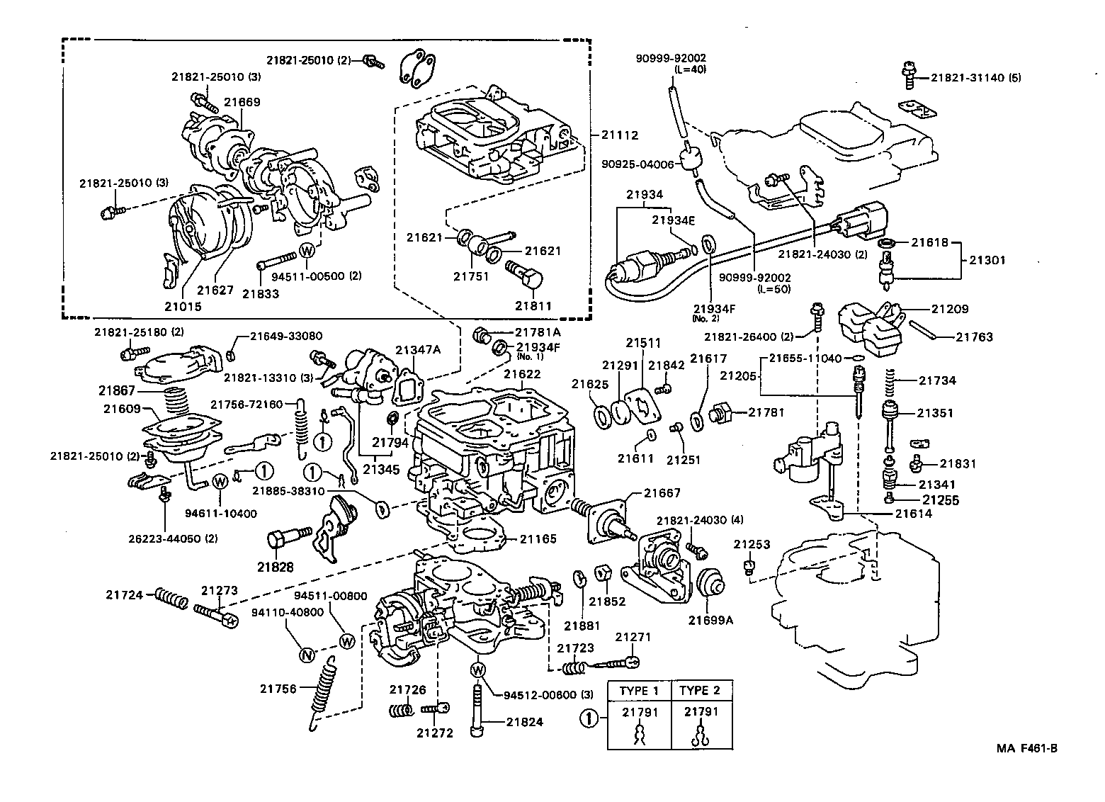 1987 Toyota Carburetor Diagram Trusted Wiring Vacuum 1986 Parts Block And Schematic Diagrams U2022 Truck 2 4 1988