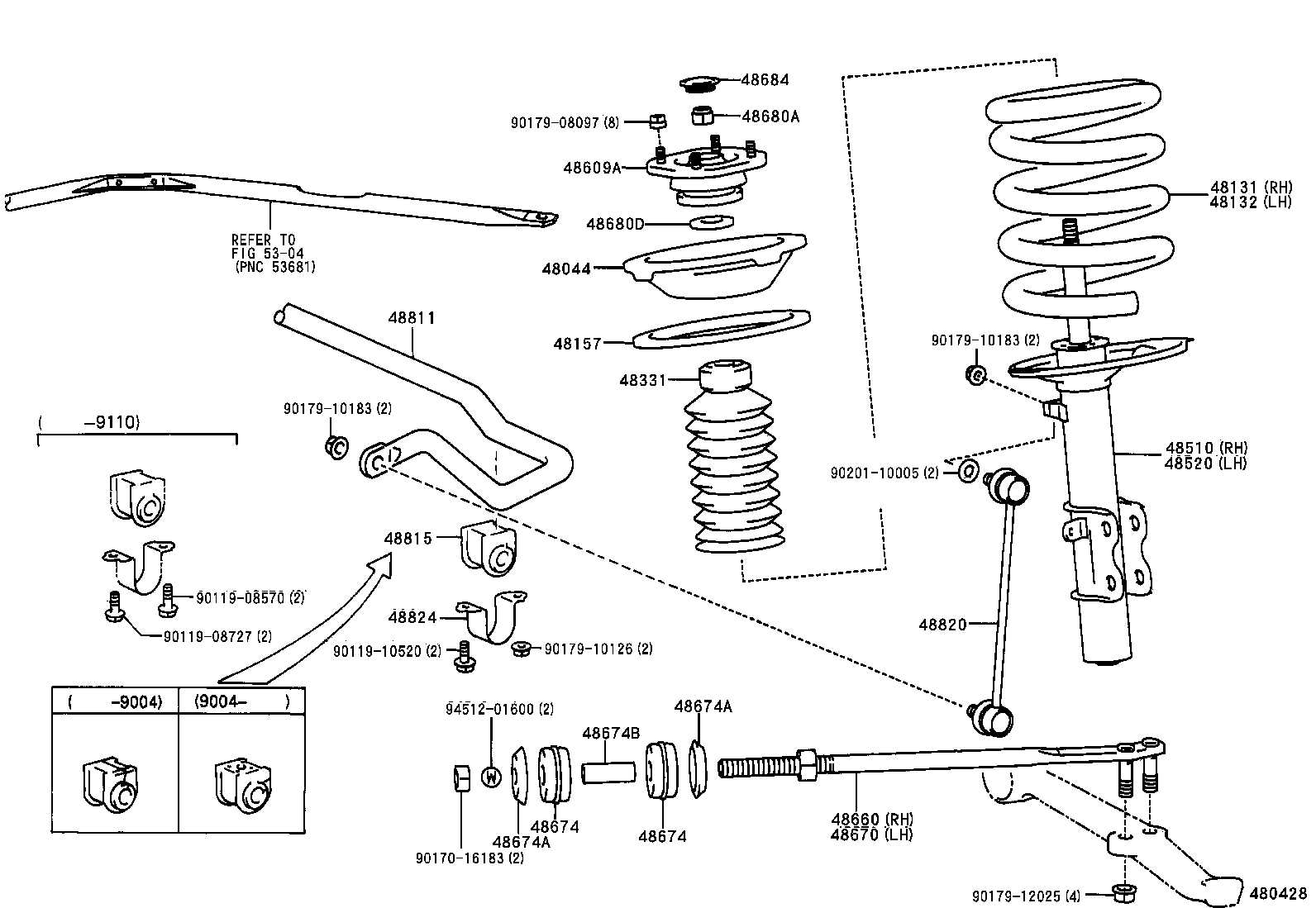 1991 Toyota Mr2 Rear Suspension Diagram Schematic Diagrams Camry Parts Diy Enthusiasts Wiring U2022 2001